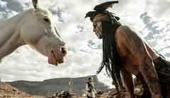 'the lone ranger' international trailer focuses on johnny depp [video]